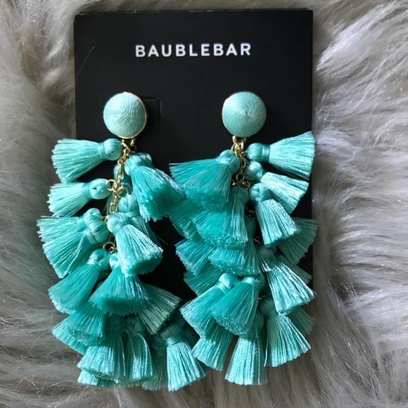 BaubleBar Contessa Tassel Earrings NWT